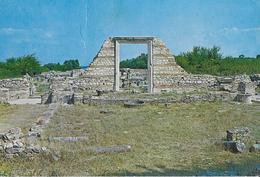 GRECIA - NICOPOLIS - BASILICA DI ALCYSON  - VIAGGIATA 1971 FRANCOBOLLO ASPORTATO - Grecia