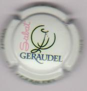 Capsule Champagne Commémo ( Nr ; VITeff Géraudel Sabat 2015 , Fond Vert-jaune ) {S17-17} - Champagne