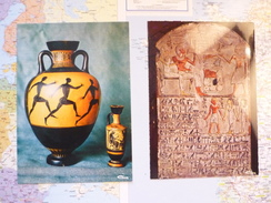 Compiègne Musée Vivenel  Céramiques Grecques / Stèle Funéraire égyptienne - Museum