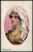 [000] Albanien / Albania, Albanierin, Künstlerkarte - Litho Um 1915 (84) - Albanien