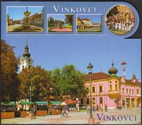 Croatia Vinkovci 2015 / Square / Church / Postcard With Bookmark - Kroatien