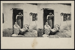 "[000] Albanien / Albania, ""Cerna Hora - Albanska Matka"", Stereoaufnahme Um 1915 (89) - Albanien"
