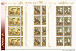Liechtenstein 0658/60** MNH - Tableaux - Mini Sheet De 8 -Zumstein 655/57 - Blocs & Feuillets