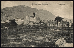 "[000] Albanien / Albania, Skutari - Taraboshi, ""Kujtim Nga Shkodra"", K & K-Soldaten, Photo Marubbi, Um 1915 (136) - Albanien"