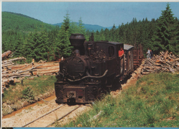 Train Railway Station Bahn Bahnhof Romania Komando Halom Steam Post Card Postkarte Karte 6609 POSTCARD - Treni