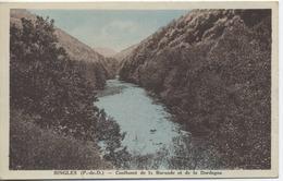 63 - SINGLES  - Confluent De La Burande Et De La Dordogne - France