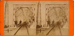 Moerdijk, Spoorbrug, Stereo - Stereoscoop