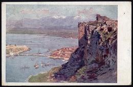 """[000] Albanien, """"Skutari (Shkodra) Vom Alten Türkischen Kastell"""", Rotes Kreuz-Karte Nr. 658, ~1915 (163) - Albanien"""