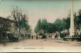 AUBAGNE(TRAMWAY) CARTE EN COULEUR - Aubagne