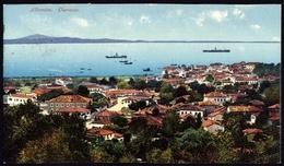 "[000] Albanien / Albania, ""Durazzo"" Durres, Purger & Co. Nr. 13855, Gel. 1916, Beschnitten (177) - Albanien"