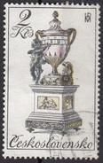 2264 Cecoslovacchia 1979 Orologi Del XVIII Sec. - Bracket Clock, 18th Century - Ceskoslovensko - Orologeria