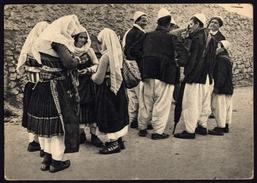 "[000] Albanien / Albania, Skodër / Scutari, ""Kostume Të Zadrimës""  Um 1940 (gel. 1957), Edizioni DISTAPTUR (187) - Albanien"