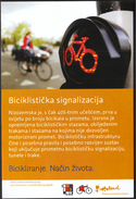 Croatia Zagreb 2013 / Cycling / Biking. A Way Of Life. / Cycling Signaling / Netherlands Style / NL - HR Events - Cycling