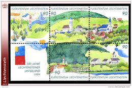 Liechtenstein 1136/40** Tricentenaire De L Unterland  MNH-Faciale: 4.50 FS - Liechtenstein