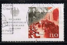 Bund 1999, Michel # 2051 O EM Aus Block 49 - [7] République Fédérale