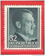 MiNr. 80 Xx Deutschland Besetzungsausgaben II. Weltkrieg Generalgouvernement - Bezetting 1938-45