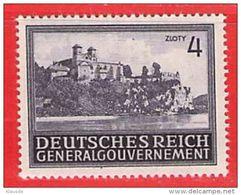 MiNr.114 Xx Deutschland Besetzungsausgaben II. Weltkrieg Generalgouvernement - Besetzungen 1938-45