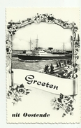 Oostende  *   Groeten Uit Oostende  (Malle - Maalboot - Mailboat) - Oostende