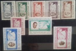 V25 - Yemen Arab Republic 1966 Mi. 475/483 Complete Set 9v. MNH - Builders Of Word Peace Nehru Kennedy Hassuna Thant ... - Yemen