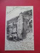 CPA Girma Cahors Château De Toirac Ussel 20/1/1901 Ambulant Ussel à Brive 20/1 à Bourges 20/1/1901 Paire Du N°102   B/TB - 1877-1920: Semi-Moderne