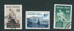 [FB17] Zegels 860 - 862 Gestempeld - Belgien