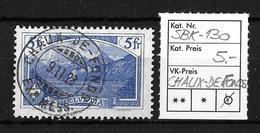 1914-1931 GEBIRGSLANDSCHAFTEN → SBK-130, CHAUX-DE-FONDS 9.II.28 - Gebraucht