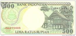 500Rupiah, 1992, P-128a, UNC - Indonésie
