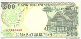 500Rupiah, 1992, P-128a, UNC - Indonesia