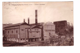 03 Montcombroux Les Mines Usine Electrique Cpa - France
