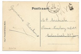 EECLOO  28  XII  19  PAYE (noodstempel) Pk Groote Markt - 1915-1920 Albert I