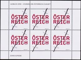 Austria Österreich 2017 Ausblick 2050: Visionen Von Österreichs Zukunft  MNH / ** / POSTFRISCH - Blocks & Kleinbögen