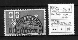 1945 GEDENKAUSGABE ZUM WAFFENSTILLSTAND (PAX) → SBK-268, WINTERTHUR 21.VIII.45 - Suisse