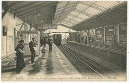 Métro  - 1922 - Chemin De Fer  Métropolitain, Ligne N° 2 Sud Etoile Italie - Gare De Sèvres - Métro
