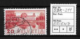 1938 BILDER DER VÖLKERBUNDS- UND ARBEITSAMTSGEBÄUDE ►SBK-211, BRIENZ 22.VI.38 - Gebraucht