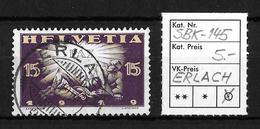1919 FRIEDENSMARKEN → SBK-145, ERLACH 21.X.19 - Gebraucht