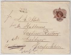 """1910, Scarce """" SOLOK """" Cancel  , #7930 - Niederländisch-Indien"""