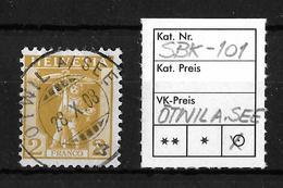 1907-1909 NEUE ZEICHNUNGEN → SBK-101, ÖTWIL AM SEE 28.X.08 - Gebraucht
