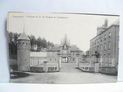 CP  GERPINNES 2 CHATEAU DE M. DE BRUGES - Gerpinnes