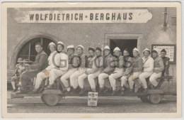 Austria - Durrnberg - Train - Trolley - Trenes