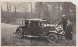 Belgium - Bruxelles - 1929 - Old Time Car - Photo 140x85mm - Automobiles