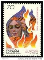 ESPAÑA 1998 - EUROPA CEPT - FIESTAS - HOGUERAS DE SAN JUAN - Edifil Nº 3542 - Yvert Nº 3117 - Fiestas