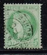 Frankreich 1871, Michel # 48 B O - 1870 Bordeaux Printing