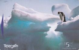 New Zealand, NZ-G-159, 1997 Antarctic Series II, Adelie Penguin, 2 Scans  .