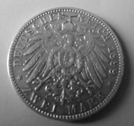 2 Mark 1899 A  Guillaume II - [ 2] 1871-1918 : German Empire