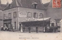 Montargis :  Hôtel Du Centre, Tenu Par Mr Madoire, 18 Fg D'Orleans