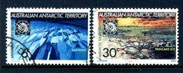AAT - Australia 1971 Tenth Anniversary Of Antarctic Treaty Set Used - Australian Antarctic Territory (AAT)