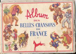 Chocolat POULAIN - Album Des Belles Chansons De France - Old Paper