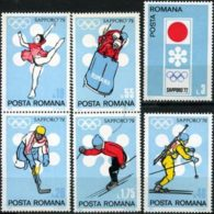 ROMANIA 1971 - Scott# 2294-9 W.Olympics Set Of 6 MNH - Unused Stamps