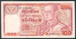Thailand, 100 Baht, Pick 89, TB 146b, Sign. 51, 1978 ! - Tailandia
