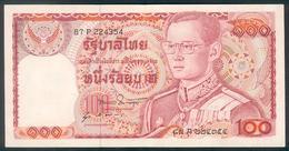 Thailand, 100 Baht, Pick 89, TB 146b, Sign. 51, 1978 ! - Thaïlande